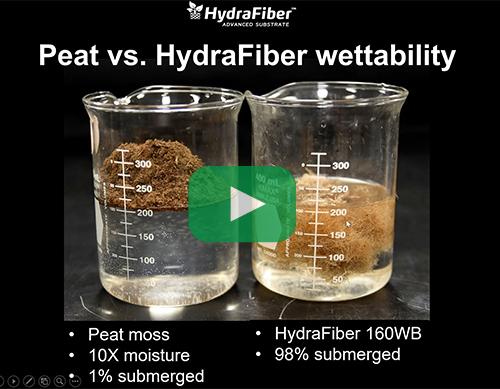 peat vs hydrafiber